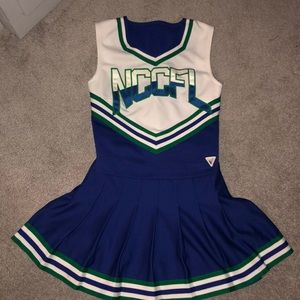 Cheerleading Uniform 4 Halloween (Top & Skirt)